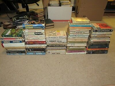 Lot of 72 assorted paperback books: Sci-Fi, Mystery, Romance, Classics +more!