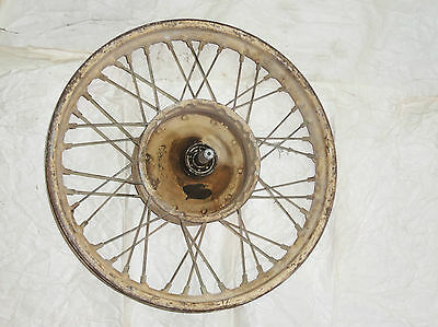 Bsa Nos A10 A7 B33 B31 Front Wheel Original Full Hub Super Rocket Gold Flash