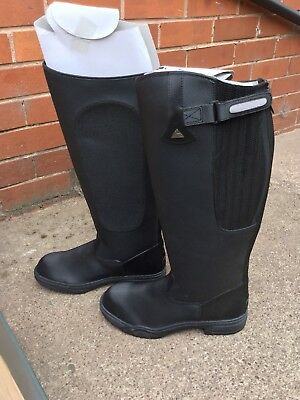 Mens Mountain Horse Rimfrost Rider Boots Size 11 Wide Fit Brand New In Box