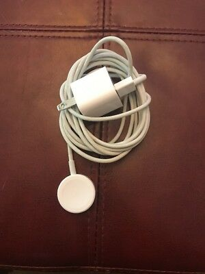 Genuine Apple Watch Charger Cable (1m) (All White), series 1, 2, 3