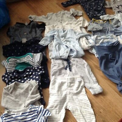 Baby Boy Bundle Newborn and 0-1 Month -  Mothercare, H&M, Marks & Spencer.......