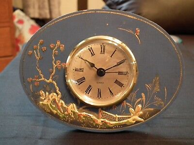vintage clock case with modern movement