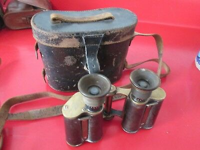 Antique  CARL ZIESS JENA - FIELDSTECHER VERGE 8X BINOCULARS  serial #11991  #3