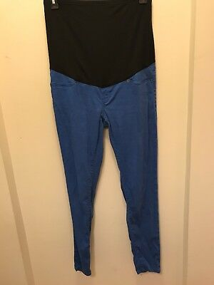 Bloomong Marvellous Royal Blue Maternity Jeans Size 14