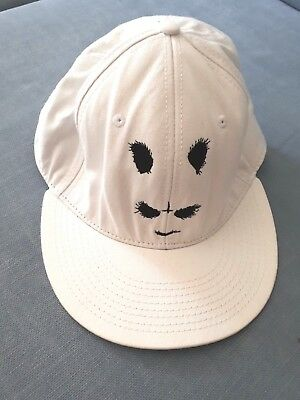 """CRO """"Donnie"""" Cap Snapback weiß Panda Donnie Chimperator Easy One Size TOP"""