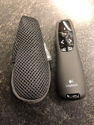 Logitech R400 Presenter Remote Control with Laser Pointer --- LN