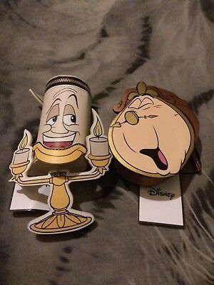 Disney lumiere & Cogsworth purse