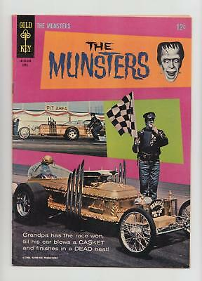 The Munsters #6 Rare Sharp Copy (Gold Key 1966) VF/NM 9.0
