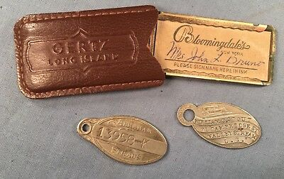 Lot 3 Vintage Credit Charge Cards Circa Mid- 1900s