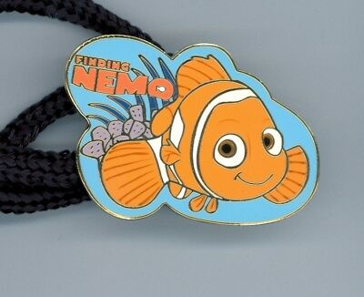 Walt Disney Studios Finding Nemo Clown Fish Cast Pin LANYARD and ID Tag Holder