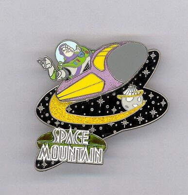 WDW Disney Gasp, Grasp & Go! Toy Story Buzz Lighyear on Space Mountain LE Pin