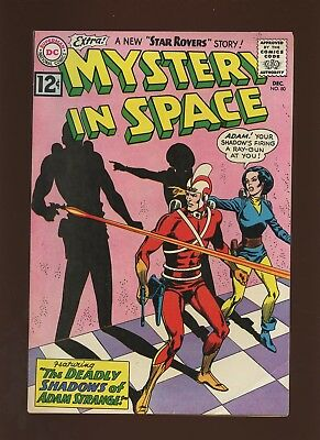 Mystery in Space 80 FN/VF 7.0 * 1 Book * Adam Strange,1962,DC,Sci-Fi,Monsters!