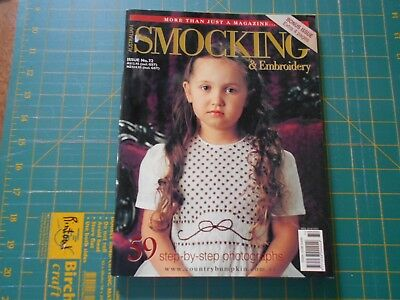 Australian Smocking & Embroidery Magazine - Issue No. 72, 2005- Good Condition -