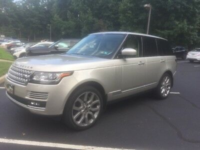2014 Land Rover Range Rover Supercharged 2014 RANGE ROVER SUPERCHARGED