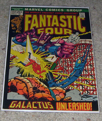 Fantastic Four 122 VF+ Silver Surfer Galactus HOT Lot Avengers 4?