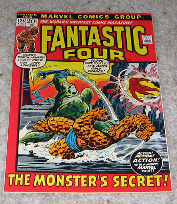 Fantastic Four 125 VF+ Silver Surfer Galactus HOT Lot Avengers 4?