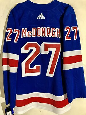 adidas Authentic NHL ADIZERO Jersey New York Rangers Ryan McDonagh Blue sz  46 0bc0a9982