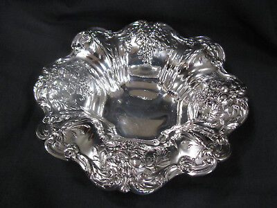 Vintage Sterling Silver Bowl Reed & Barton 569 Francis I Fruit Repousse Fluted