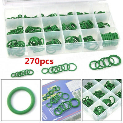 270x Assortment Car A/C System Air Conditioning O-Ring Gas Oil Proof Tool Hot