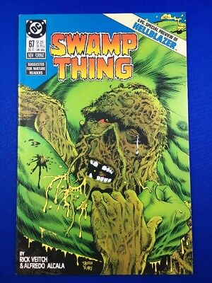 Swamp Thing #67 (DEC 1987, DC) Hellblazer Preview!