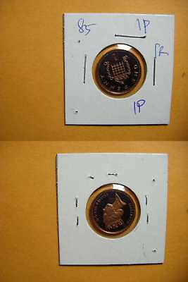 9283 GB 1985 1 Pence Proof