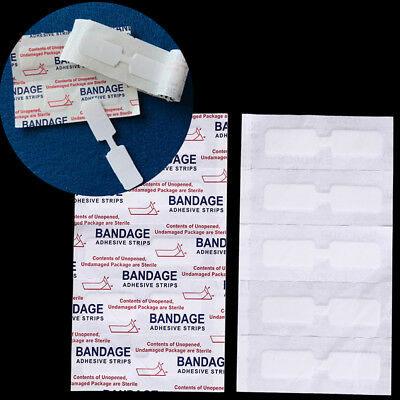 10pc Waterproof band aid butterfly adhesive wound closure emergency kit bandage*