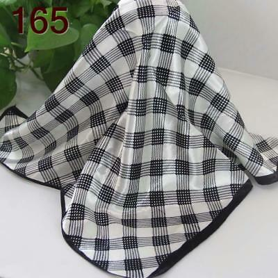 Office Women Ladies Elegant Small square Scarves Silky Office Kerchief Scarf 165