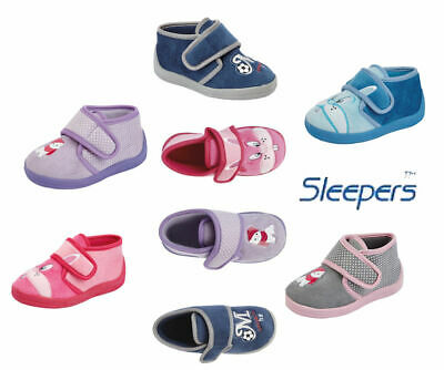 Childs  Infants Boys Girls Touch Fastening Slippers  - £7.99 - POST FREE