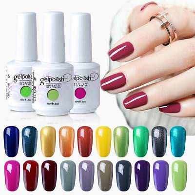 GEL LAB Soak Off Gel Polish Base Top Coat Manicure Varnish Lacquer 15ML