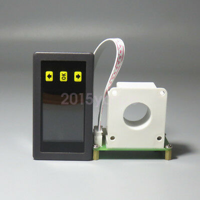 DC Wireless DC Voltmeter Ammeter Power Meter Capacity Coulomb Counter 120V 50A