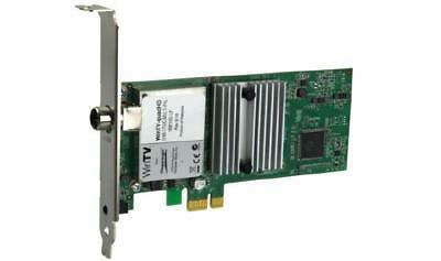 HauppaugeTV QuadHD Four HDTV Tuners in one PCIe card with Remote for Windows Wat
