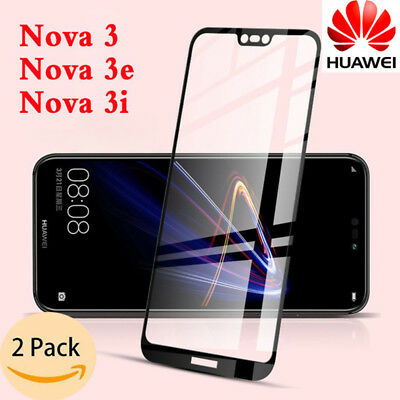 For Huawei Nova 3i P20 Lite/Pro Full 3D Tempered Glass 9H Screen Protector Cover