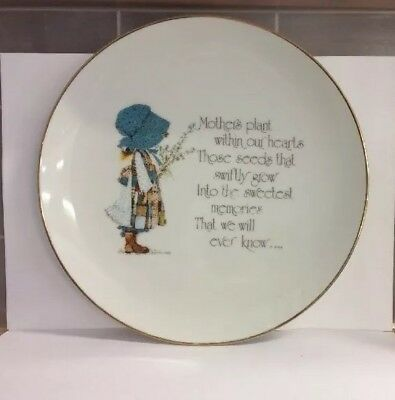 Holly 'Hobbie' Hobby Collectable Porcelain 'Designer's Collection'Plate Mothers