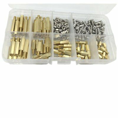 3X(210pcs M3 Male Spacer Standoff/Stainless Steel Screw/Nut Assortment Kit W7Q1