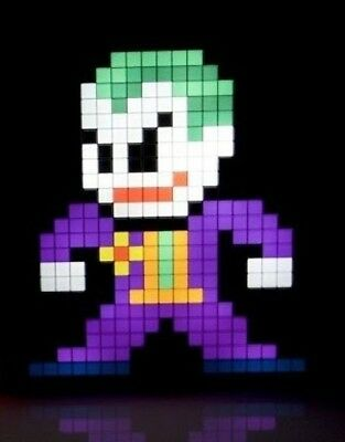 PDP Pixel Pals DC Comics The Joker Collectible Lighted Figure 878-029-NA-JOKER