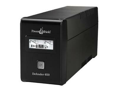 PowerShield Defender 650VA / 390W Line Interactive UPS with AVR, Australian Outl