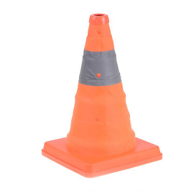 Safety Lighted Collapsible Portable Traffic Safety Cone Emergency Orange MW
