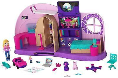 Polly Pocket Polly's Go Tiny Room Playset [Ages 4+] **BRAND NEW**