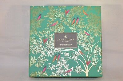 "Portmeirion Sara Miller Chelsea Collection 8"" Cake Plate - Set of 4 Plates BNIB"