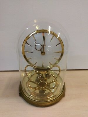 Vintage Kundo Anniversay clock with dome *UNTESTED*