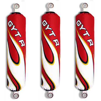 Red Flame Shock Covers Arctic Cat AUTO 300 375 DVX 250 400 (set of 3) New
