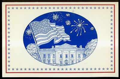 2008 The White House Fourth of July Fireworks Invitation