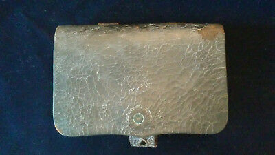 Original Civil War Pistol Cartridge Box For A .36 or .44 Caliber Pistol