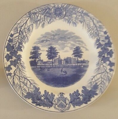 Antique 1948 Bowdoin College1822 Sesquicentennial Wedgewood Decorative Plate