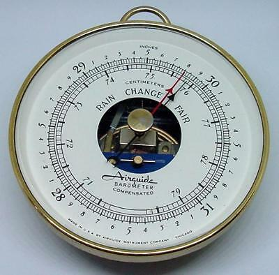 Barometer Airguide - Compensated, Brass Case