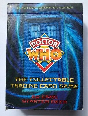 Doctor Who The Collectable Trading Card Game Starter Deck