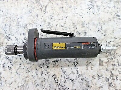 INGERSOLL RAND CYCLONE TD250 PNEUMATIC DIE GRINDER 25000 RPM (Tool Only)