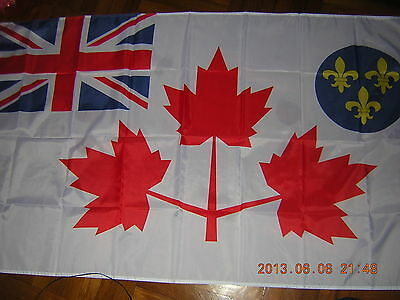 British Empire Flag Canadian Army Battle Flag WWII Canada Ensign 3X5ft GB UK HM