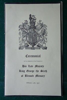 Antique Ceremonial used at the Burial Death of King George VI 1952 Mulholland