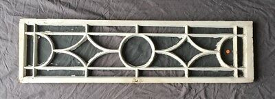 Vtg Casement Window Sash Transom SIidelight Shabby Old Chic 404-18E
